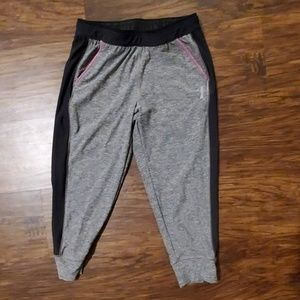 Girls Reebox Capri Joggers